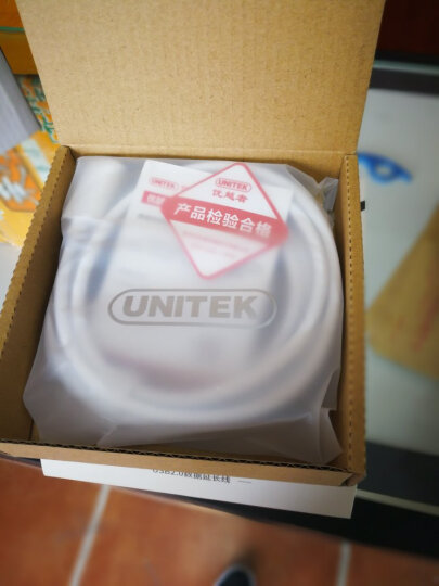 优越者(UNITEK)usb延长线 公对母 高速传输数据转接线 AM/AF 电脑USB/U盘鼠标键盘耳机加长线1.5米Y-C449EWH 晒单图