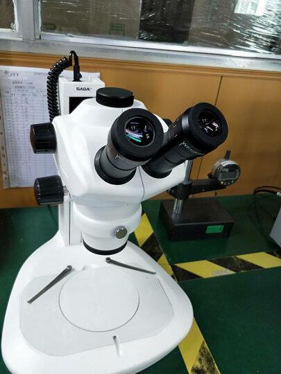 SAGA 体视显微镜 连续变倍三目解剖镜 工业检测 专业珠宝医学 手机维修 标配+单反套件=接单反相机拍照 晒单图