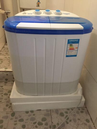 XPB38-50S 迷你洗衣机小型 脱水双缸双桶半自动 晒单图