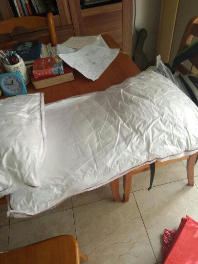 恒源祥家纺 床上用品全棉四件套纯棉印花被套床单床上四件套 华庭 1.8米床/被套220*240cm 晒单图
