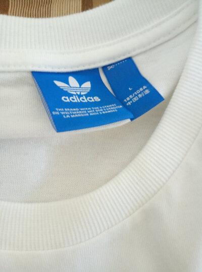 阿迪达斯adidas 官方 三叶草 男子 短袖上衣 白 BS2805 如图 L 晒单图