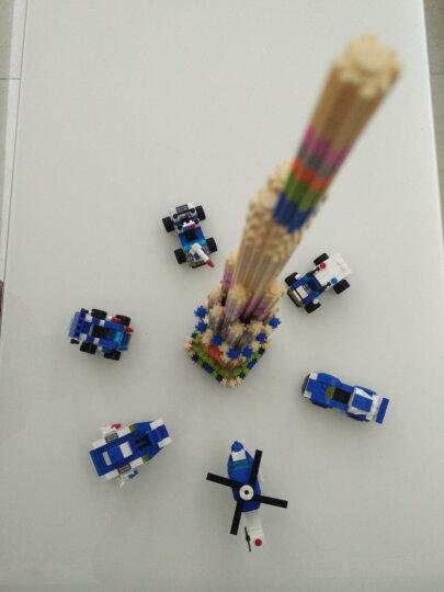 倍奇 串联积木玩具枪diy拼插塑料小颗粒益智玩具散件组装创意拼装男女孩玩具 6个单色包装(颜色随机发)约1878颗粒 晒单图