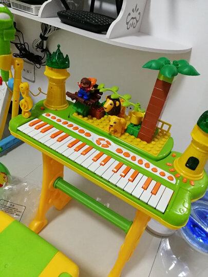 贝芬乐 buddyfun 儿童电子琴 天籁小舞台积木琴 带积木U盘功能88037B绿色 晒单图