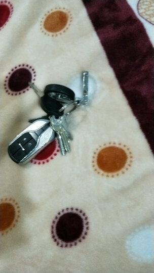 一口米 创意旋转轮胎钥匙扣金属汽车男腰挂圣诞礼品4S店汽车商务礼品长8.5cm直径4cm重54g左右 晒单图