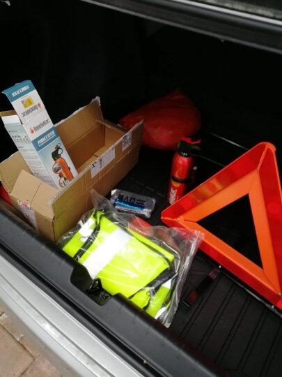 火焰战士 汽车应急救援包 车载灭火器 灭火毯警示牌搭火线拖车绳车载安全锤补胎液 应急救援套装 应急救援8件套 晒单图