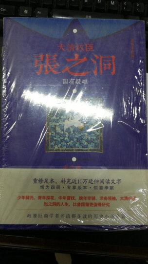 大清权臣张之洞(套装共4册) 晒单图