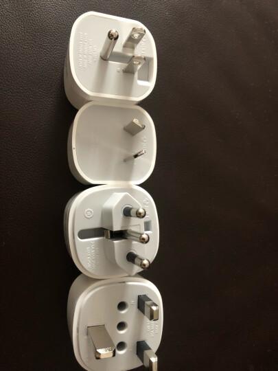 公牛(BULL)GN-L07 新国标多国旅行转换器/转换插头/电源转换器 适用200多个国家与地区 晒单图