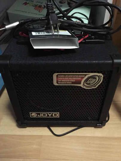 JOYO 卓乐 DC15 DC30电吉他音箱 14种效果器鼓机便携音响 DC-30音箱(30W) 晒单图