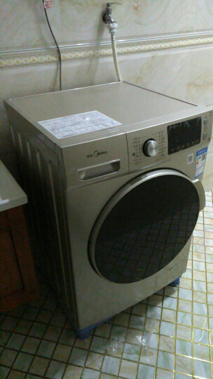 美的(Midea)滚筒洗衣机10公斤大容量家用全自动洗烘一体变频 MD100V332DG5 晒单图