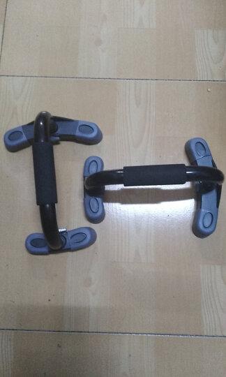 美国爱康(ICON) 防滑运动健身器材家用工字型胸肌扩胸锻炼俯卧撑支架PFIPUBY13 健身 晒单图