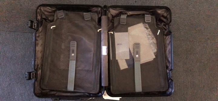德国日默瓦RIMOWA TOPAS全系列TOPAS STEALTH铝镁合金拉杆箱登机箱行礼箱 经典款30寸-黑色 晒单图