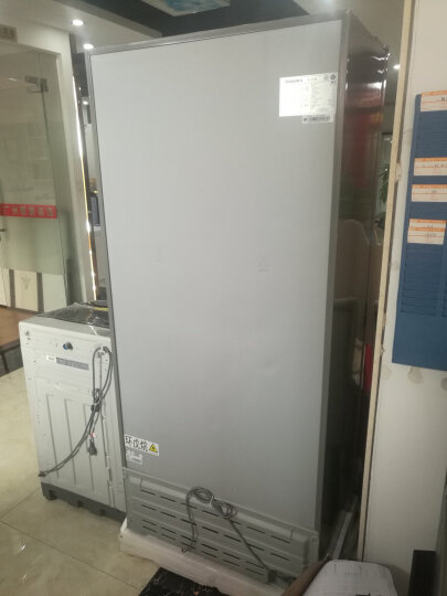 奥马(Homa)100升家用商用冰柜 彩晶玻璃面板  卧式冷藏冷冻变温冷柜BC/BD-100璀璨金 晒单图