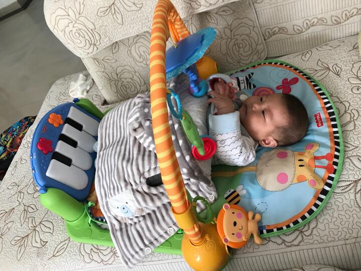 费雪(Fisher-Price) 宝宝健身架 脚踏钢琴 早教益智 婴儿玩具 0-1岁 脚踏钢琴健身器GDH17 晒单图