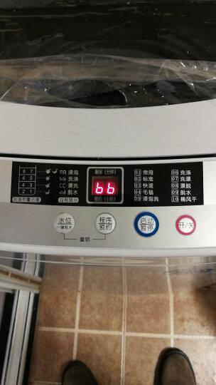韩电(KEG)5.5公斤小型全自动家用波轮洗衣机 童锁 一键脱水 快洗 XQB55-D1518(透明黑) 晒单图