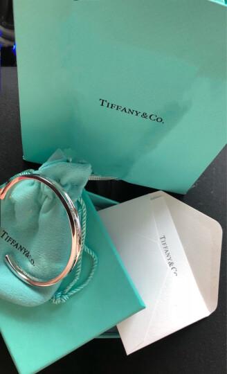 【京东闪购】蒂芙尼Tiffany 1837系列 925银中号窄形开口手镯情人节礼物 晒单图