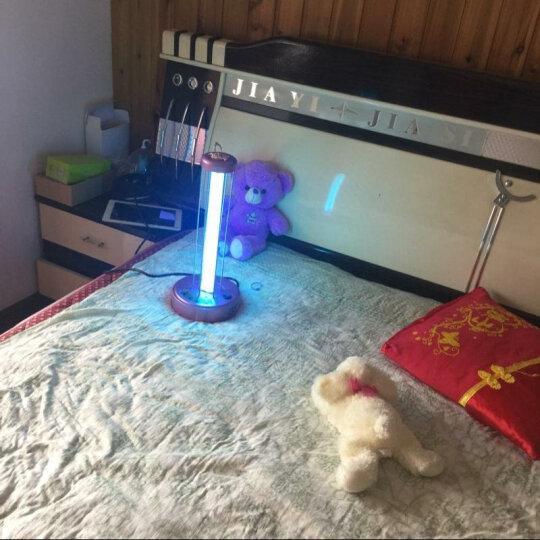 KARELL 卡瑞尔紫外线消毒灯家用 移动式杀菌消毒灯 幼儿园臭氧消毒灯 除螨去异味紫外线灯管 粉色遥控(有臭氧) 31-40w 晒单图