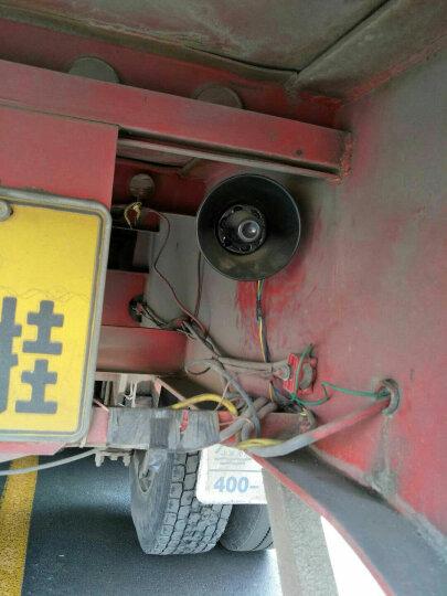 浙立倒车喇叭12V24V汽车货车改装工程车客车倒车语音左右转弯嘀嘀嘀提醒器警报器 小号请注意倒车喇叭(防水款)--12V 晒单图