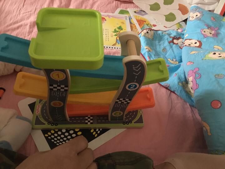 铭塔(MING TA)趣味滑翔车 婴幼儿童小孩益智玩具 男孩轨道车木制盒装 晒单图