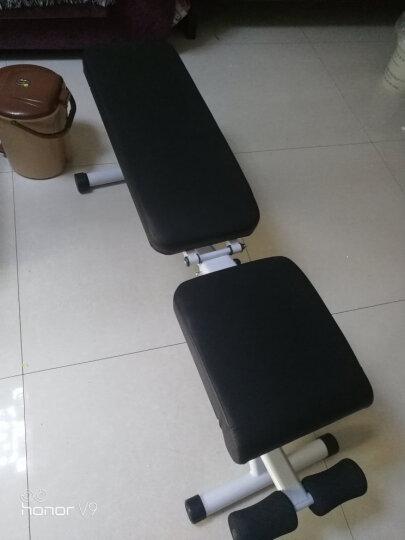 创思维 哑铃凳家用多功能健身椅专业杠铃平凳卧推床仰卧起坐板运动健身器材 CSW9010 白色款全国联保 晒单图
