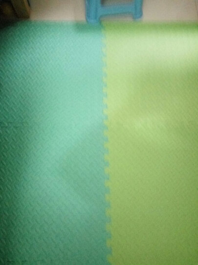 绿美佳宝宝爬行垫60*60cm加厚环保健康婴儿拼接爬爬垫小孩垫子树叶纹儿童泡沫地垫 紫色1片(送边条) 60*60*1.2cm 晒单图
