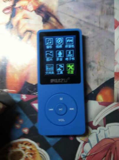 锐族(RUIZU) 运动MP3 MP4发烧高音质无损MP3 录音笔有屏幕MP3播放器 黑色  8G 晒单图