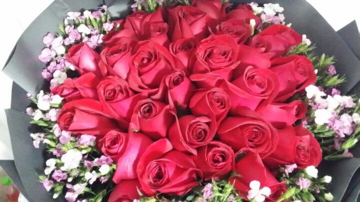 唯雅 鲜花速递33朵红玫瑰花束 同城送花全国花店送花上门当日速达 送女友老婆惊喜 混搭33朵混搭玫瑰 晒单图
