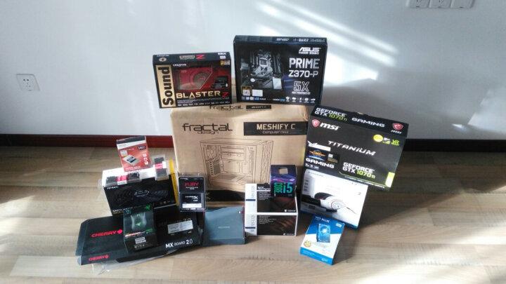 华擎(ASRock)Z370 Gaming K6主板 + 英特尔(Intel)i5 8400 板U套装 晒单图