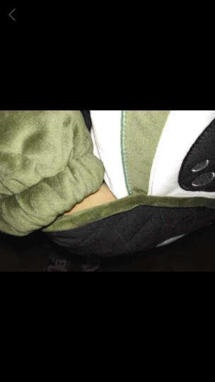 莉比诺夹棉睡衣女冬珊瑚绒加棉春秋季可爱连帽加绒加厚法兰绒居家服韩版可外穿家居服套装 H016#女款夹棉 XXL码 晒单图