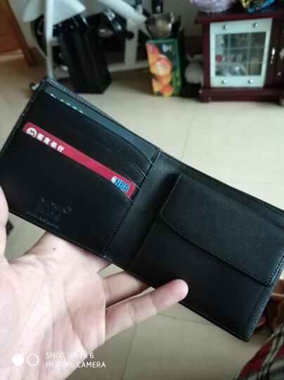 MONTBLANC万宝龙大班系列配零钱包黑色4卡片格钱包/钱夹7164 晒单图