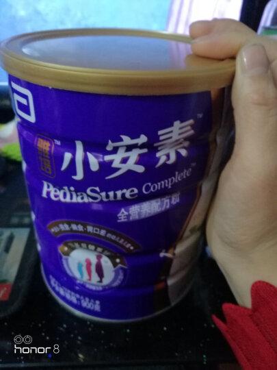 雅培(Abbott)小安素全营养配方粉香草味(1-10岁)900克*3罐(新加坡原装进口) 晒单图
