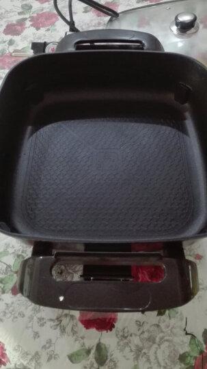 拜杰(BJ) 韩式多功能电热锅电烤锅铁板烧烤肉锅电火锅电蒸锅 炒锅蒸锅汤锅 蒸笼 晒单图