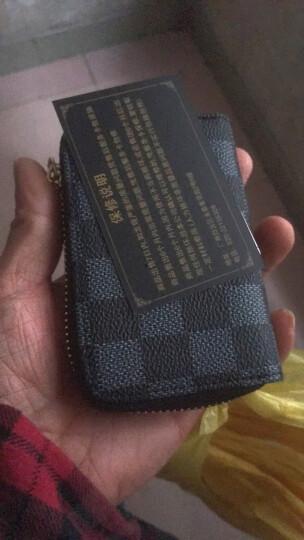 2017新款欧美风琴卡包女式男士风琴卡夹信用卡套小零钱包卡片包潮 G字纹 晒单图