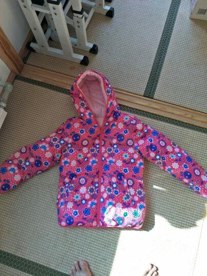 安踏 儿童羽绒服 女童棉衣短款童装外套双面穿保暖棉服加厚冬装 -1砖红色 150cm 晒单图