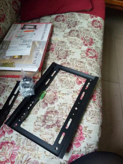 NSH14-70寸通用微鲸暴风夏普康佳KKTV液晶电视挂架显示器支架挂墙架 通用加厚43-70寸电视机挂架 晒单图