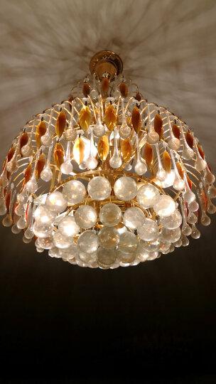 佛山照明 (FSL)LED尖泡水晶灯节能泡尖泡3W透明E14日光色6500K 超炫金 晒单图