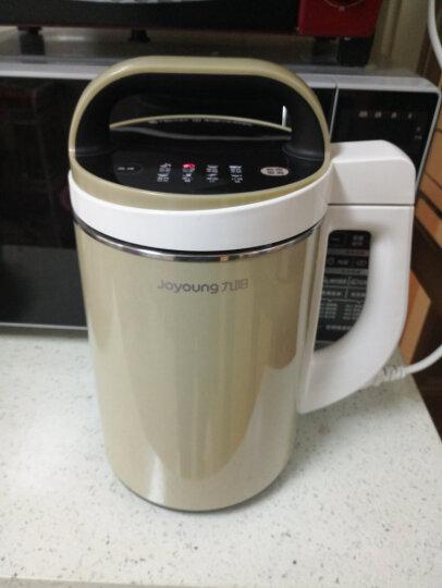 九阳(Joyoung)豆浆机1-1.3L无网无筋可烧饭304不锈钢占地小米糊家用多功能搅拌机料理机DJ13B-N620SG 晒单图