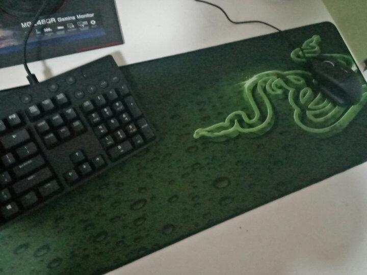 雷蛇(Razer) 重装甲虫 裂变-控制版/大地-速度版游戏鼠标垫 游戏办公键盘垫超大护腕桌垫 大地速度版超大号(920mm*294mm*3mm) 晒单图