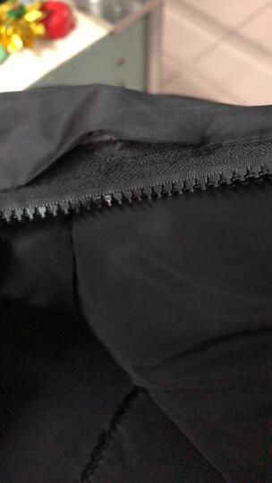 派米娅 马甲女中长款2018秋冬新品羽绒棉服韩版大码女装显瘦连帽时尚百搭无袖背心马夹 外套女春季 灰色 XL 晒单图