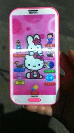 可充电儿童玩具手机触屏音乐婴幼儿早教机益智玩具电话1-3-6岁 凯蒂猫电池手机 晒单图