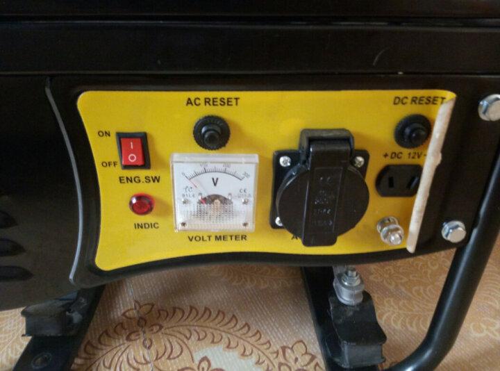 ASPIRE 汽油发电机220V家用单相3kw三相5/6/8千瓦小型迷你发电机 新升级1kw手启动+烧汽油220V 晒单图