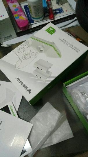 SparkFox(闪狐)Xbox One s 原装手柄 充电座加双充电电池包套装 晒单图
