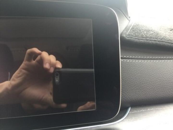 野锐斯 奔驰新E级A级 E200L E300L导航膜中控贴膜 屏幕导航钢化膜 保护膜透明改装专用 新E级标轴【全覆盖钢化膜-蓝光】1片装 晒单图