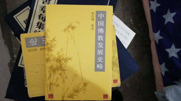 南怀瑾11.中国佛教发展史略 ~ 南怀瑾 著述 晒单图