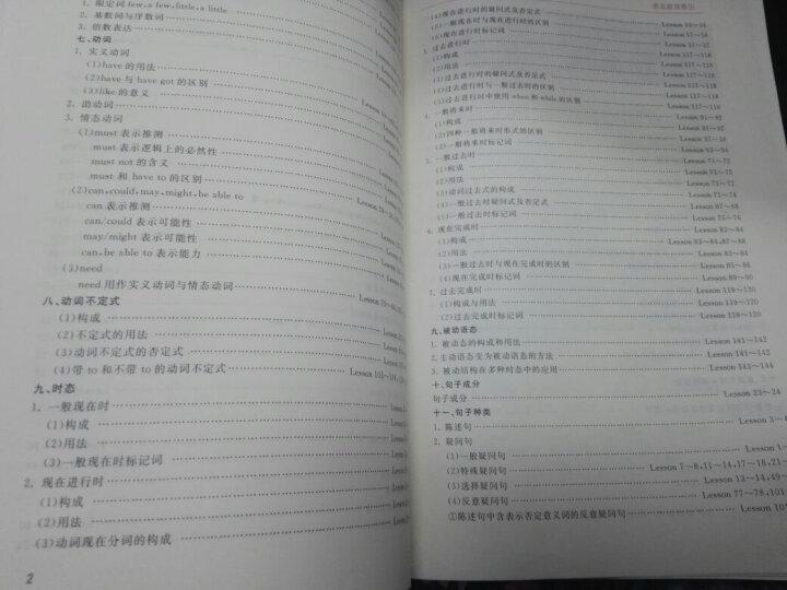 新概念英语名师导学系列·新概念英语语法同步互动真题集(第1册) 晒单图