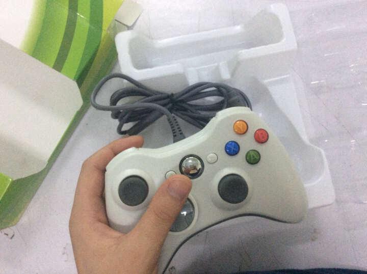 趣迷(QEOME) 趣迷 XBOX360游戏手柄 电脑USB游戏手柄 有线手柄 白色 晒单图