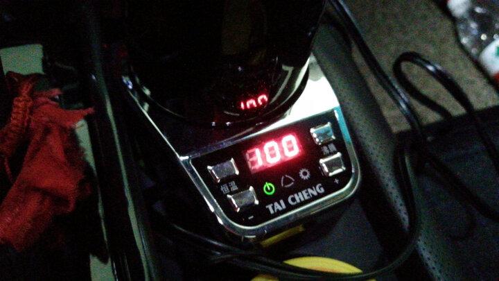 泰澄 C05 车载电热杯 汽车加热杯 保温杯 电热水杯 车用烧水壶 至尊金 晒单图