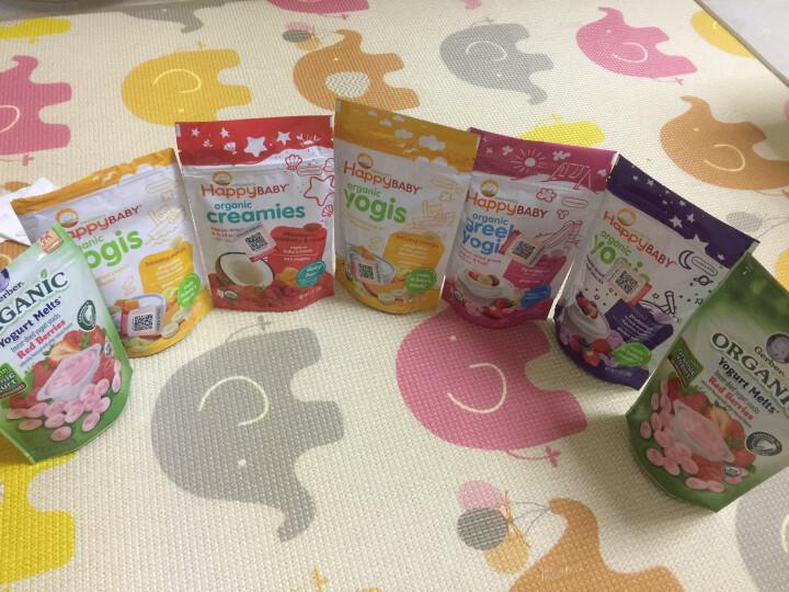 禧贝 happybaby 希腊酸奶溶豆28g 香蕉 草莓 婴幼儿辅食 美国进口 8月以上 晒单图