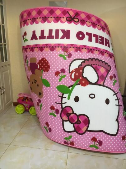 明德Meitoku HelloKitty 双面环保EPE整张地垫宝宝爬行垫婴儿爬爬垫野餐垫游戏垫 180*200*0.5cm 樱桃 晒单图