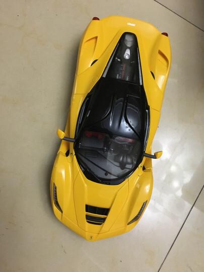 星辉(Rastar) 遥控车 1:14法拉利漂移跑车男孩儿童玩具车模型50100黄色 晒单图