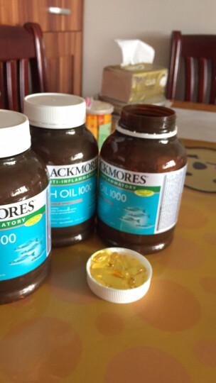 澳洲进口 澳佳宝(Blackmores)深海鱼油软胶囊欧米伽3 原味400粒 晒单图